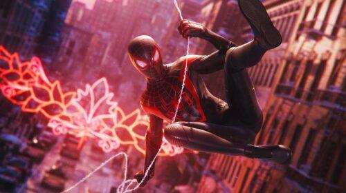 Spider Man Miles Morales on PlayStation 5