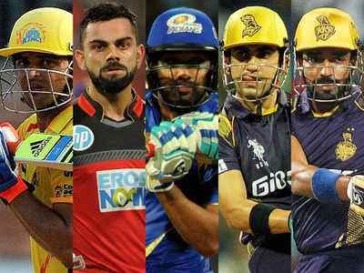 5 batsmen who have scored the most half centuries in the IPL